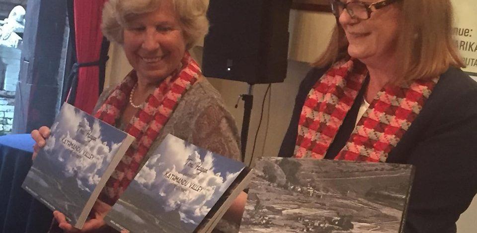 टोनी हेगनको काठमाडौँ भ्याली फोटो पुस्तक बिमोचन